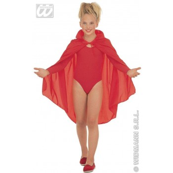 CAPE SMALL 90CM RED FANCY DRESS COSTUME (HALLOWEEN)