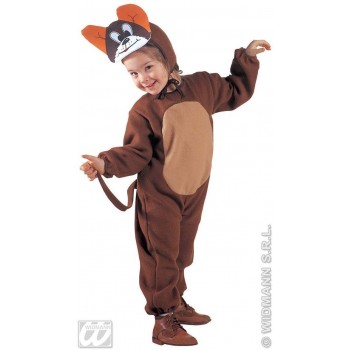 Mouse - Jumpsuit & Headpiece W/Mask Costume Age 2-3 (Animals)