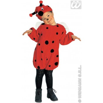 Plush Ladybug - Jumpsuit, Headpiece  Kids Age 3-4 (Animals)