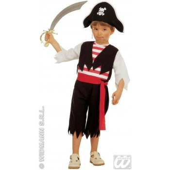 Little Pirate Costume Toddler 3-4 Fancy Dress Costume (Pirates)