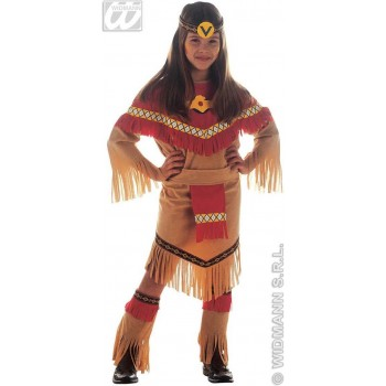 Ray Of Moonlight Costume Child Costume Girls (Cowboys/Native Americans)