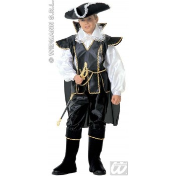 Captain Black Child Fancy Dress Costume Boys (Pirates)