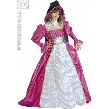 Duchess Of York - Dress W/Wire Hoop, Hooded C. Costume (Royalty)