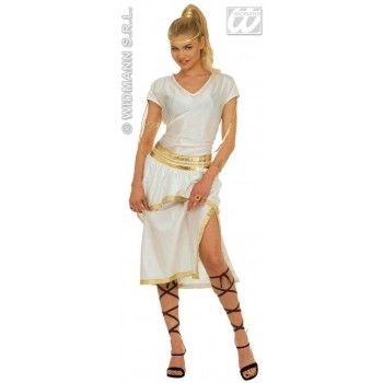 Athena Costume Adult Ladies Fancy Dress Costume Ladies (Cultures, Greek)