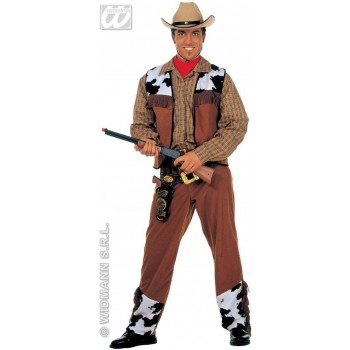 Western Cowboy Adult Fancy Dress Costume Mens (Cowboys/Native Americans)