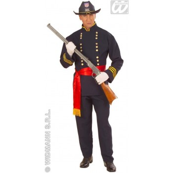 Union General Costume Adult Blue Fancy Dress Costume (Cultures)