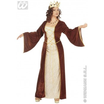 Medieval Princess Adult Fancy Dress Costume Ladies (Royalty)