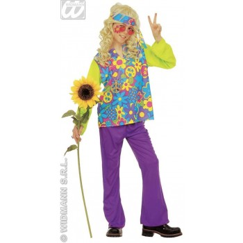 Hippie Boy Costume Child Fancy Dress Costume Boys (1960S)
