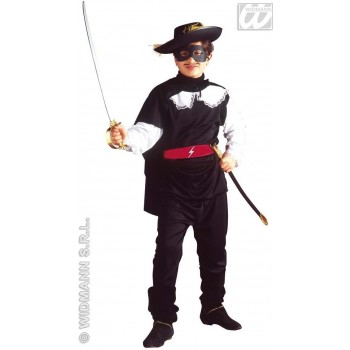 Bandit With Coat, Pants, Belt, Cape And Eyemask Costume (Cultures)