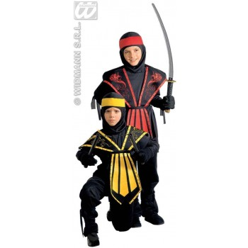 Kombat Ninja Costume Child Fancy Dress Costume Boys (Ninja)