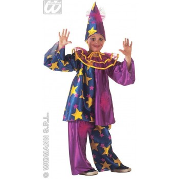 Star Clown Costume Child Fancy Dress Costume Girls (Clowns)