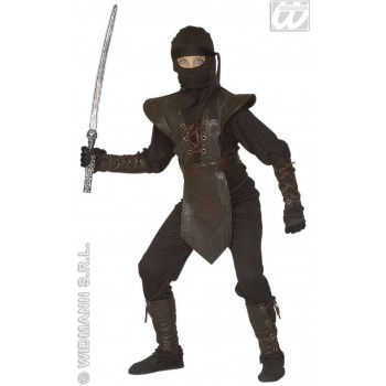 Fighting Ninja Costume Child Fancy Dress Costume (Ninja)