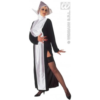 Nun With Dress And Headpiece Fancy Dress Costume Ladies (Vicars/Nuns)