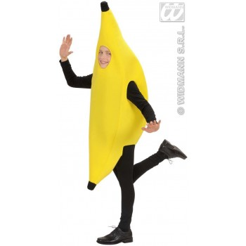 Banana Costume Child 128Cm Fancy Dress Costume (Food)