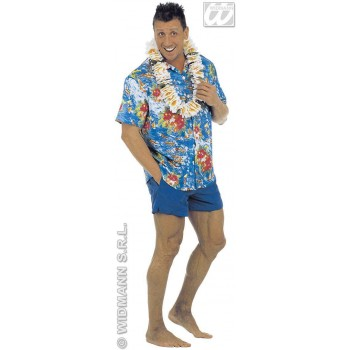 Hawaiian Shirt 3 Styles Fancy Dress Costume (Hawaiian)