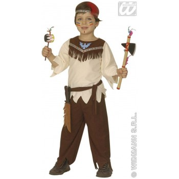 Native Indian Boy - Coat, Pants, Belt, Headband (Cowboys/Indians)