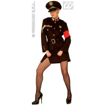 Marlene Officer Ladies Fancy Dress Costume Ladies (Cultures)