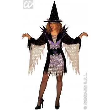 Super Witch Adult Fancy Dress Costume Size 10-12 M (Halloween)