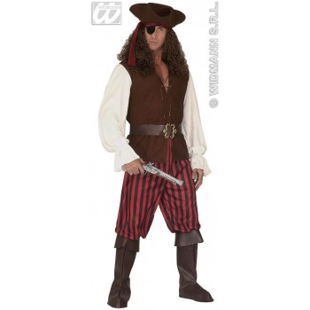 High Sea Pirate Man With Shirt W/Vest, Pants.. Costume (Pirates)