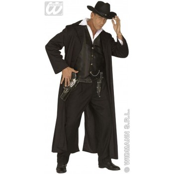 Bounty Killer Costume Adult Mens Fancy Dress Costume (Cowboys/Native Americans)