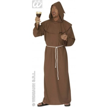 Deluxe Monk Adult Fancy Dress Costume Mens (Vicars/Nuns)