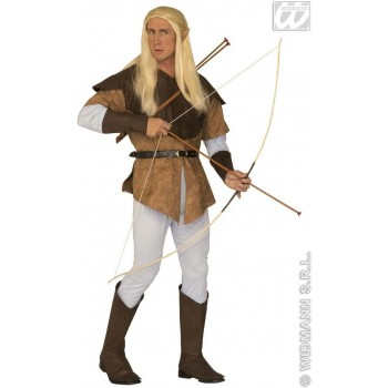 Elf Archer Adult Fancy Dress Costume Mens (Christmas)