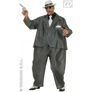 Fat Gangster Costume Costume Mens Size 40-44 M (1920S)