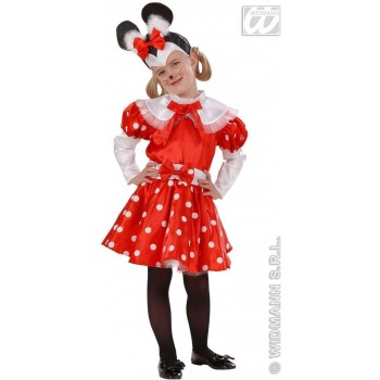Mouse Girl - 98-104Cm - Dress, Belt-, Eadp. Fancy Dress