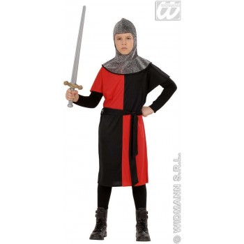 Medieval Warrior 4 Cols. With Coat, Belt, Hood Costume (Medieval)