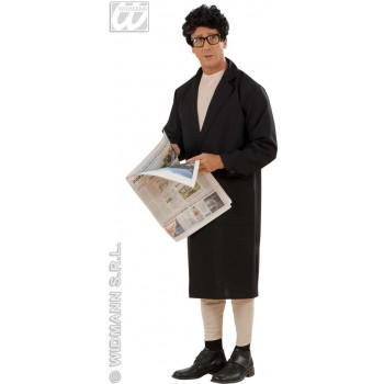 Flasher Man With Sexy Jumpsuit, Overcoat Fancy Dress (Sexy)