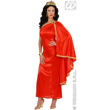 Stretch Fabric Roman Empress With Dress, Tiara Costume (Roman)