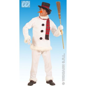 Snowman Adult Fancy Dress Costume Mens (Christmas)