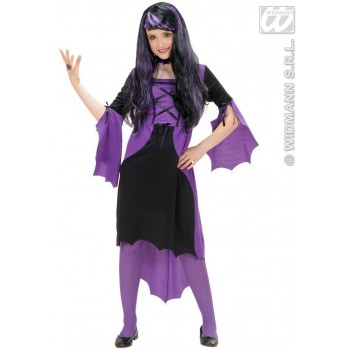 Vampire Girl Fancy Dress Costume Girls (Halloween)