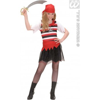 Pirate Girl Child Fancy Dress Costume Girls (Pirates)