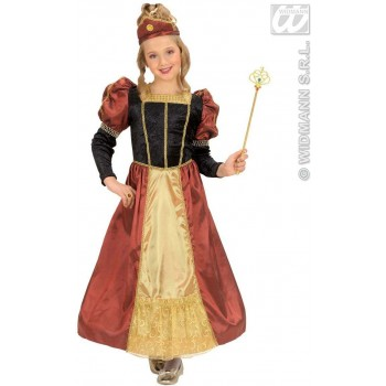 Regal Princess Fancy Dress Costume Girls (Royalty)
