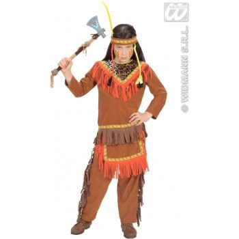 Indian Boy Child 128Cm Fancy Dress Costume Boys (Cowboys/Indians)