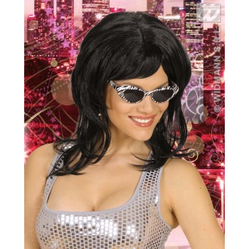 Flirty Wig - Black - Fancy Dress