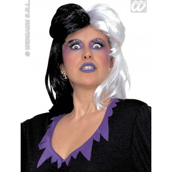 Wig Black And White - Fancy Dress