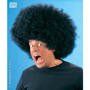 Jimmy Wig Oversized Black - Fancy Dress