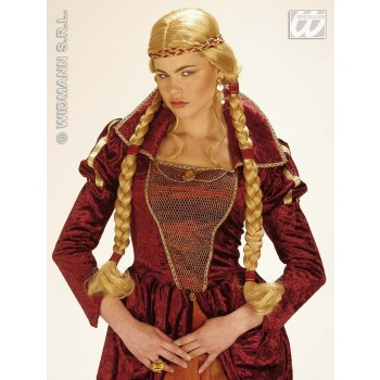 Giulietta Wig With Plaits - Fancy Dress