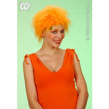 Plush Wig Orange - Fancy Dress