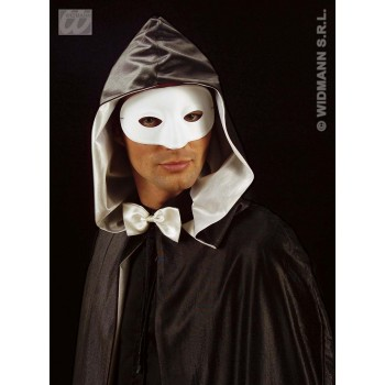 Masquerade Eyemask White - Fancy Dress