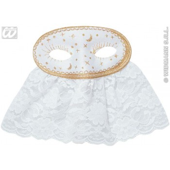 Veiled Etoile Eyemasks-2 Col.Asstd Fancy Dress