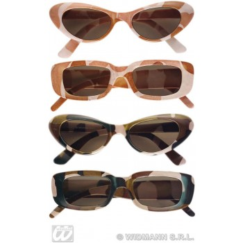 Glasses Camouflage - Fancy Dress (Army)