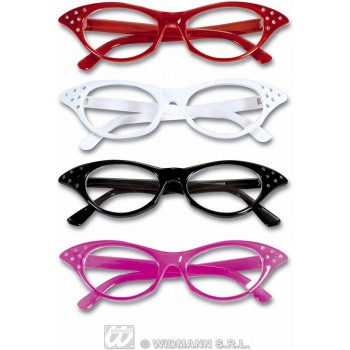 Glasses 60S With Rhinestone - Fancy Dress (1960S)