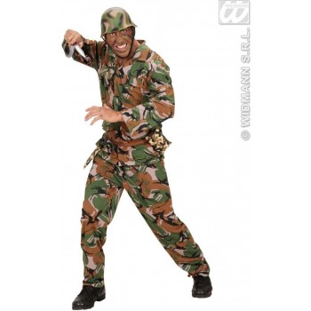 Dagger W/ Camouflage Scabbard - Fancy Dress (Army)