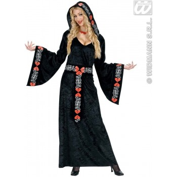 Queen Of Broken Hearts Fancy Dress Costume Ladies (Royalty)