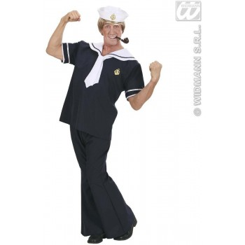 Sailor Fancy Dress Costume Mens (Sailor)