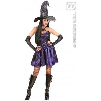 WITCH FANCY DRESS COSTUME LADIES (HALLOWEEN)
