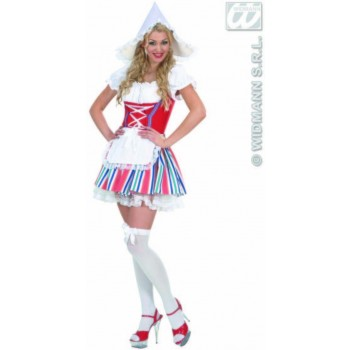 Dutch Girl Fancy Dress Costume Ladies (Cultures)